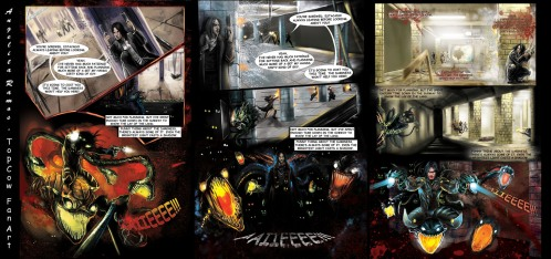 the Darkness Contest Panels
