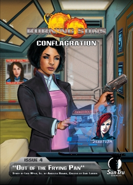 Burning Suns - Conflagration Issue 4 - Cover