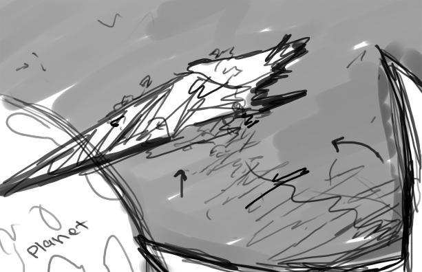 Templar Ship Sketch